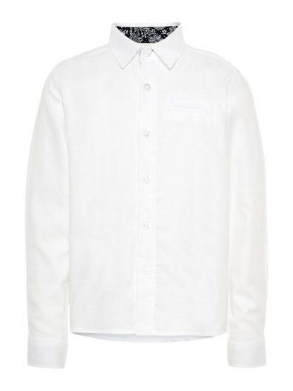 Hvit skjorte til gutt – Skjorter og vester hvit penskjorte  – Mio Trend