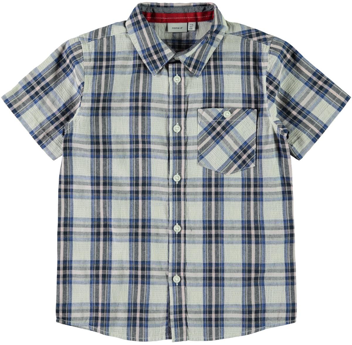skjorte med kort arm MioTrend