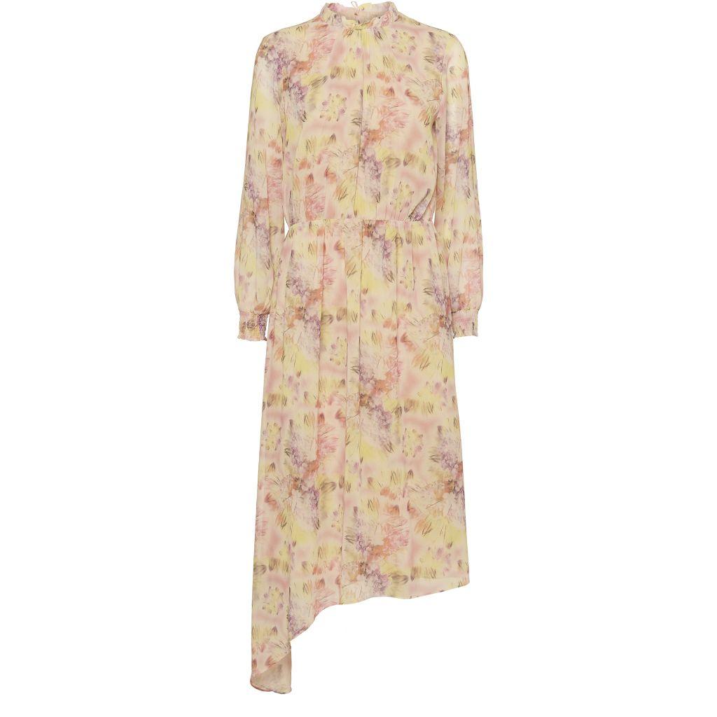 Dahlia kjole med blomster