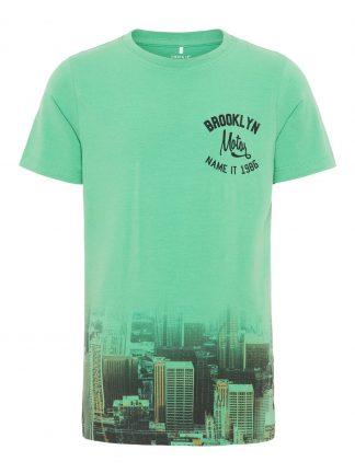 Name It t-skjorte grønn