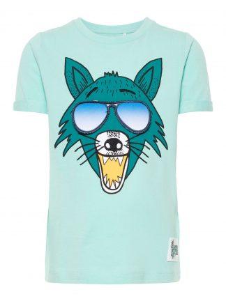 Grønn t-skjorte Name It