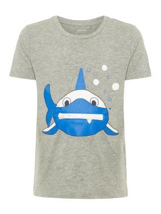 T-skjorte med hai