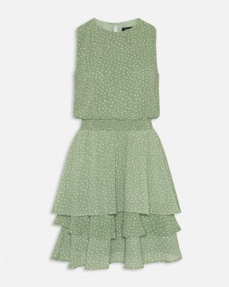 Sisters Point grønn kjole