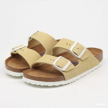Birkenstock sandaler semsket skinn – Birkenstock Arizona Vanilla sandaler  – Mio Trend