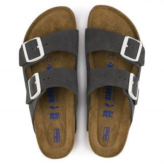 Grå sandaler fra Birkenstock