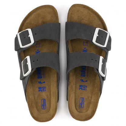 Grå sandaler fra Birkenstock – Birkenstock Arizona grå sandaler – Mio Trend