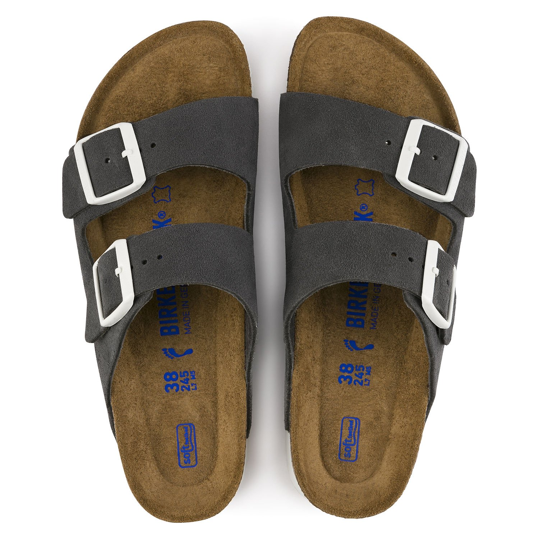 2665073011a Grå sandaler fra Birkenstock – Birkenstock Arizona grå sandaler – Mio Trend