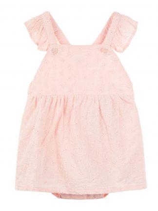 Rosa sommerkjole baby