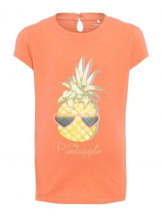T-skjorte med ananas