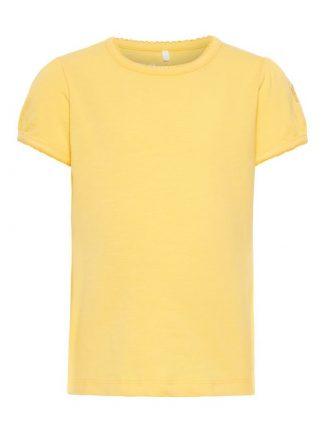 Gul t-skjorte barn