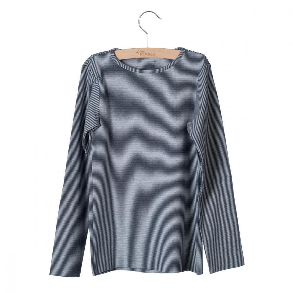 93cf86b6 Little Hedonist genser – Little Hedonist marineblå genser med striper Elana  – Mio Trend