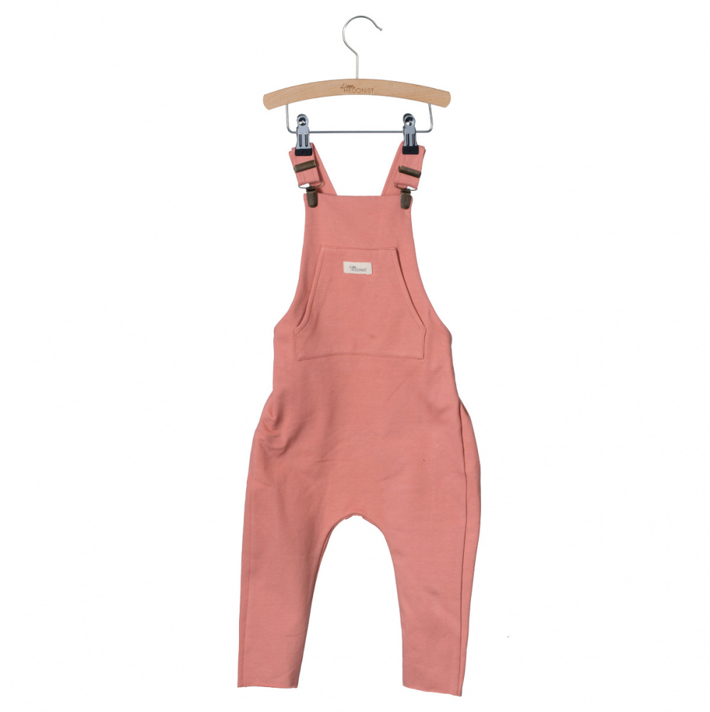 93009988 Little Hedonist bukse – Little Hedonist corall snekkerbukse Salopette Lola  – Mio Trend