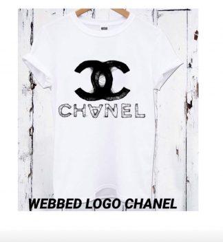 Chanel logo t-skjorte