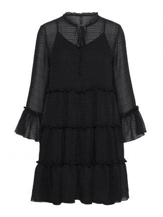 Sort kort kjole Yas