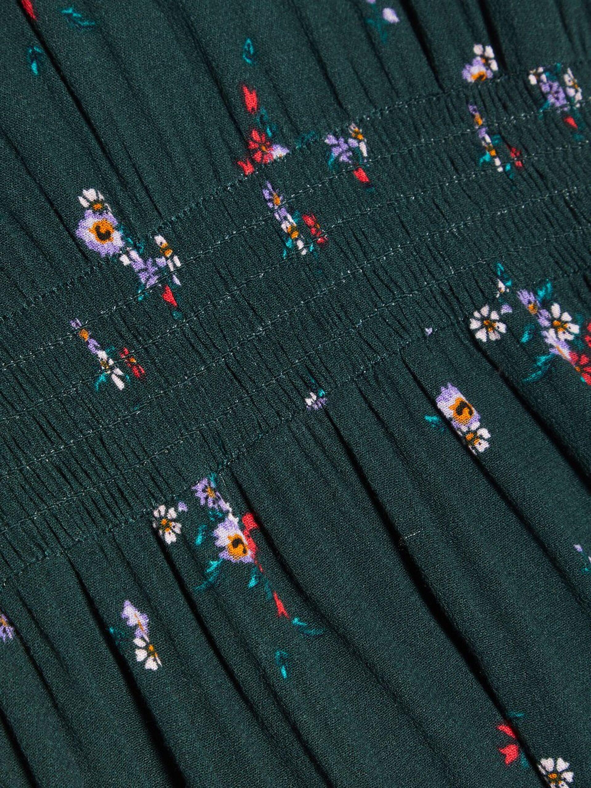 532caa28 ... Name It grønn kjole med blomster – Mio Trend · Grønn kjole barn. Grønn  kjole barn