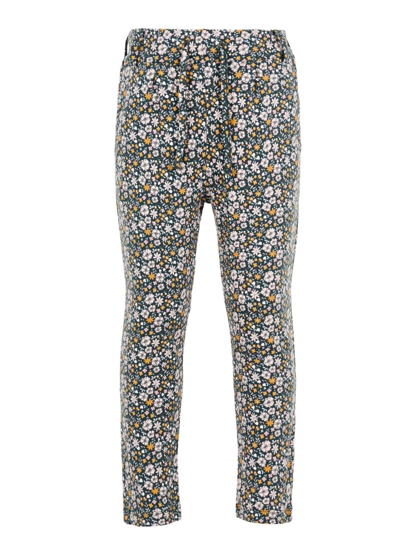 8a194d92 Name It grønn kosebukse – Name It grønn bukse med blomster – Mio Trend