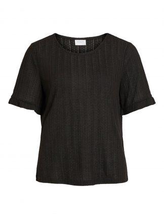 Vila t-skjorte sort
