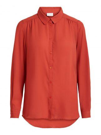 Rød skjorte Vila