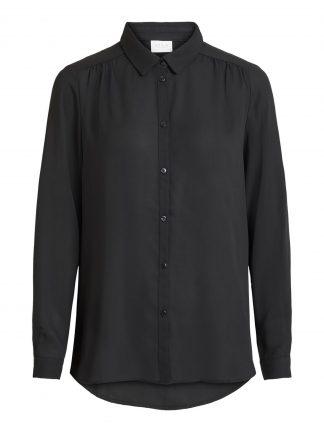 Vila skjorte sort