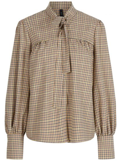 Rutete bluse yas – Y.A.S rutete skjorte Jessie – Mio Trend
