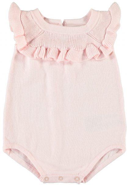 Rosa romper baby Name It. – Sparkebukse/overall rosa romper Lael – Mio Trend