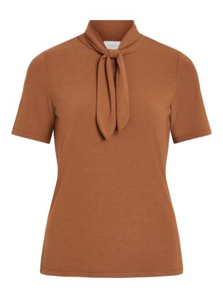 Brun t-skjorte Vila