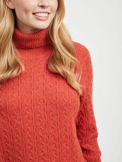 Rød genser fra Vila