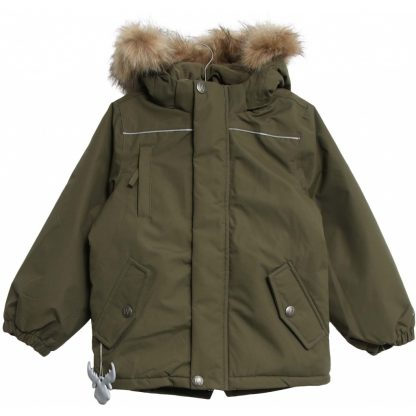 Grønn jakke fra Wheat – Yttertøy grønn vinterjakke Elton – Mio Trend