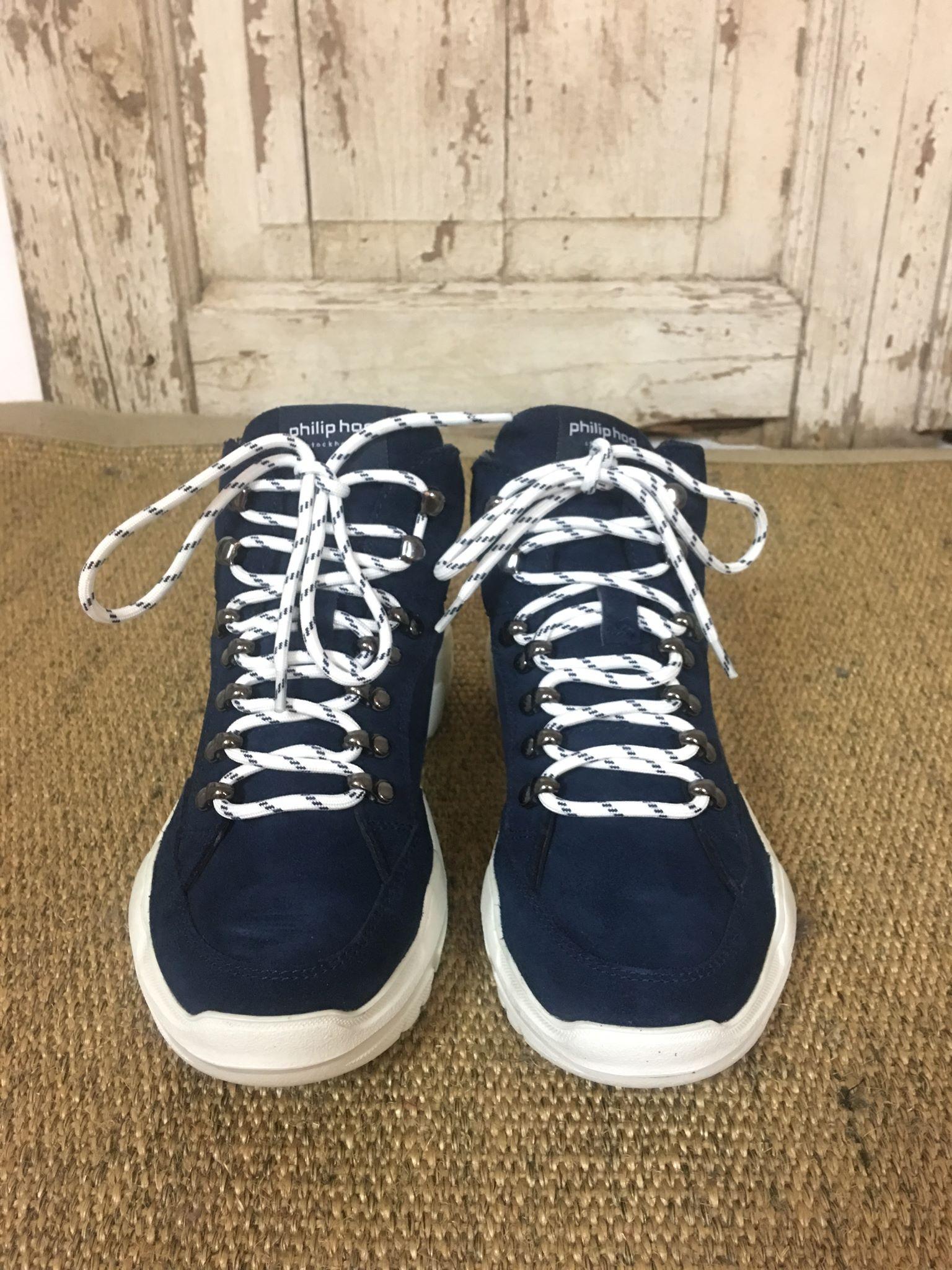 marineblå sko Hiker MioTrend