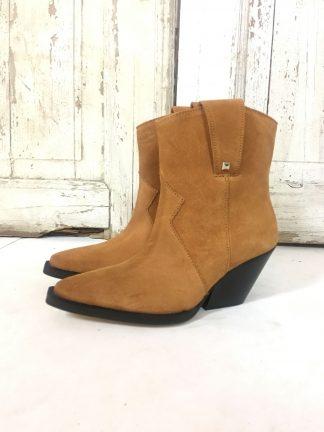 Cowboy boots dame, brune boots.