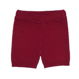 Memini shorts, rød ullshorts.