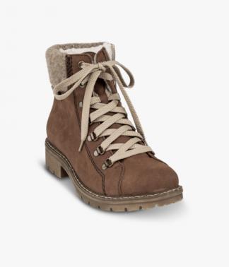 Brune støvler Rieker