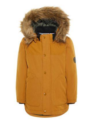 Name It vinterjakke brun.