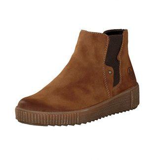 Rieker brun ankelstøvlett