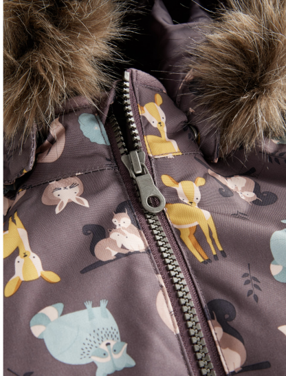 Name It vinterdress med dyr