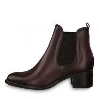 Tamaris ankelstøvlett brun
