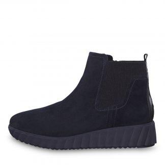 Tamaris blå støvlett