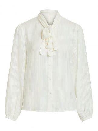 Vila bluse off white
