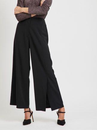 Sort bukse Vila, bukse med splitt
