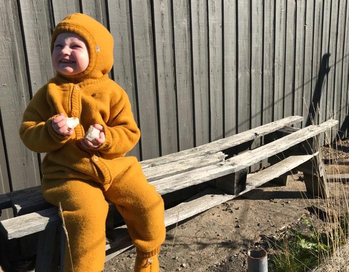 Joha softwool i høstens hotteste farge