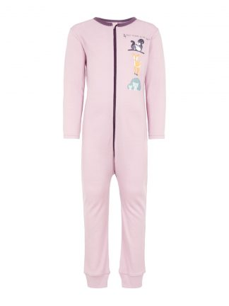 Rosa pysjamas ull