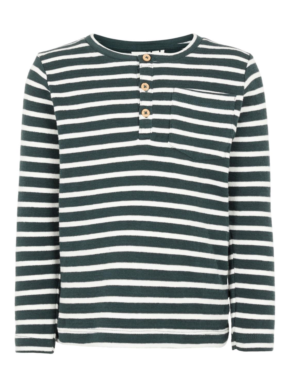 grønn stripete genser Vale MioTrend