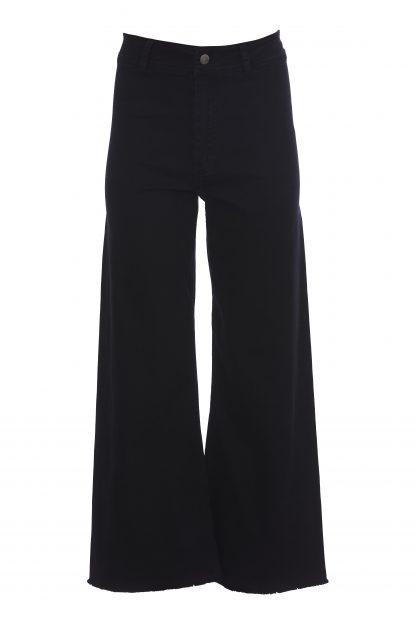 Svart jeans høyt liv – Rue de Femme sort jeans med Stanly – Mio Trend