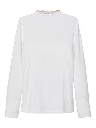 Hvit genser jente, fra Name It.