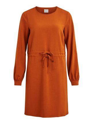 Brun kjole Vila