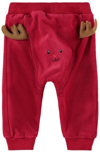 Bukse jul baby, rød bukse fra Name It.