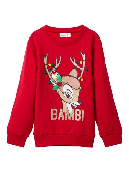 Julegenser barn Bambi, fra Name It. – Name It julegenser med Bambi – Mio Trend