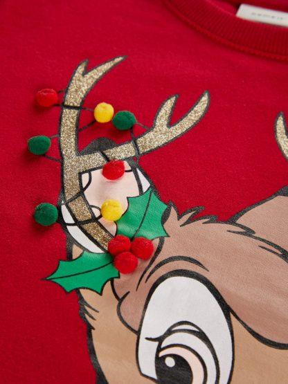 Julegenser barn Bambi, fra Name It.