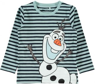 Olaf genser Frost, grønn genser fra Name It