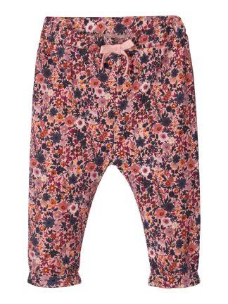 Bukse baby blomster